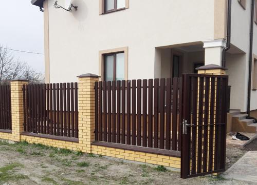 Забор из штакетника Киевская область Киев