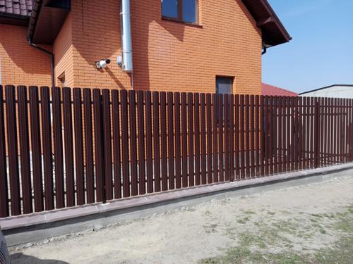 Картинки по запросу забор из штакетника