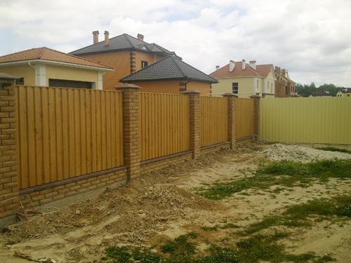 Забор из профилированного листа Киевская область Киев